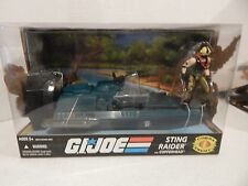 GI JOE ~ STING RAIDER WATER  MOCCASSIN with COPPERHEAD ~ MISB MIB ~ 25TH
