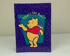 """Winnie The Pooh """"Snapshots"""" Album ~ Holds 100 4""""x6"""" Photos ~ """"Buzz To You, Too"""""""