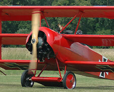 Huge Giant 1/2 Scale German WW-I Fokker DR-1 Triplane Plans & Templates