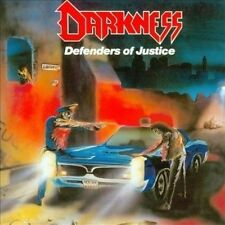 Darkness - Defenders of Justice CD 2005 reissue thrash Germany Battle Cry