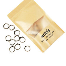 "IWISS 1/2"" PEX Stainless Steel Cinch Clamps Pinch Rings 10pcs-PACK"
