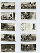Full Set, Franklyn Davey, Hunting 1925 EX (Ga3130-276)