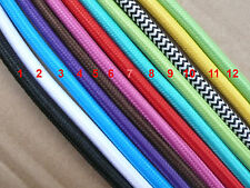 26' feet cloths 800cm Covered Cotton Antique Electrical Wire Vintage Lamp cord