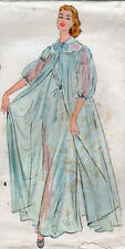 1954 VTG McCALL'S Sewing Pattern - Fancy NIGHTGOWNS & PEIGNOIR - Bust 30 inches