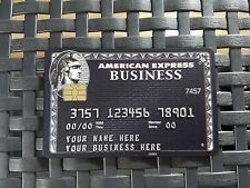 Black Card. The ultimate in luxury. Customize it. like a Amex BUSINESS Centurion