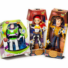 Disney Toy Story Talking Woody Buzz Lightyear Jessie Action Figure Dolls Plush