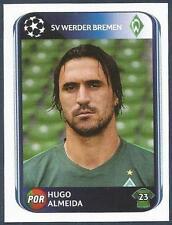 PANINI UEFA CHAMPIONS LEAGUE 2010-11- #037-WERDER BREMEN-HUGO ALMEIDA