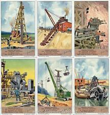 Chromo Liebig Sang. 1379 ITA Grandi Impianti del Cantiere Moderno ANNO 1938