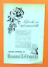 C613-Advertising Pubblicità-1953 - KELEMATA TISANA