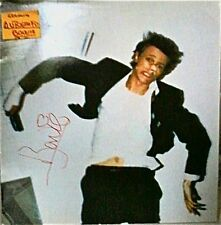 AUTOGRAFO originale DAVID BOWIE SU LP LODGER