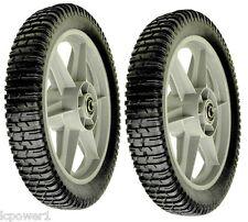 """[ROT] [13495] 2 Plastic Wheels 12"""" X 1-3/4""""  194387X460 431880X460 532402935"""