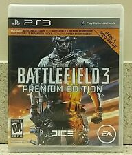 Battlefield 3: Premium Edition PS3 **MUST read description** Fast Shipping