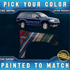 NEW Painted To Match - Passengers Front Fender for 1999-2004 Jeep Grand Cherokee