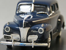 MTH 1:43 DIE-CAST 1941 FORD SUPER DELUXE CAR COLONY BLUE 30-50084 UNCATALOGED