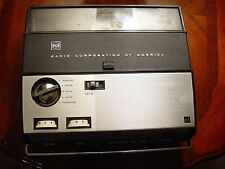 Vintage RCA Reel to Reel Battery Operated Tape Recorder with Mic Remote