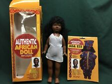 "EMEABA EMEABA Authentic 14"" AFRICAN DOLL Very Nice With Fashion Outfit In Box"