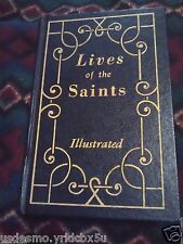 Lives of the Saints Illustrated New Revised Edition 1977 Catholic Book