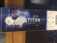 2016 TENNESSEE TITANS VS GREEN BAY PACKERS TICKET STUB 11/13 DELANIE WALKER