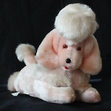 1950s Vintage Pink Poodle Plush Early Lewis Galoob Musical Toys Wind Up Moves!