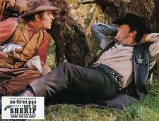 JAMES GARNER SUPPORT YOUR LOCAL SHERIFF 1969 VINTAGE LOBBY CARD #4