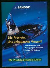 Die Prostata das unbekannte Wesen ? Infos und Anregungen zum Thema für Männer