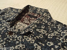 """TED BAKER Mens Shirt�� Size 1 (36"""" CHEST) �� RRP £110+ �� FANTASTICALLY FLORAL!!"""