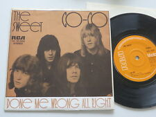 """The Sweet Co-Co Done me wrong all right UK-7"""" RCA 2087 in German Picture-Sleeve"""