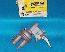 1974 1975 Ford Mercury 4 140 KEM Factory Rebuilt Fuel Pump 1122