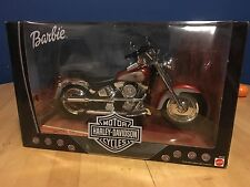 1999 Harley Davidson Fatboy Motorcycle For Barbie