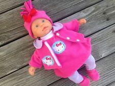 Kleidung + Jacke 6-tlg. für first ANNABELL Chou Baby Puppe 36-38 Puppenkleidung