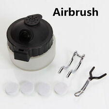 One Multi-purpose Airbrush Cleaner Cleaning Paint Plastic Pot Jar Bottle Holder