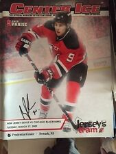 Signed Auto Brodeur Record 552 Wins Game Program 3/17/09 New Jersey Devils