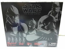 "STAR WARS BLACK SERIES 6"" CLONE TROOPER STORMTROOPER 4 PACK AMAZON EXCLUSIVE"
