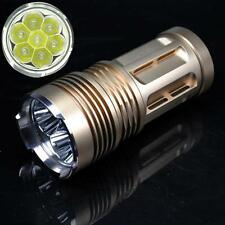 9000LM 7x XM-L T6 LED 18650 Tactical Flashlight Mini Hunting Lamp Light Torch GD