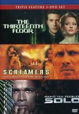 NEW The Thirteenth Floor/Screamers /Solo (DVD)