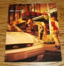 Original 2000 Ford Focus Foldout Sales Brochure Poster 00