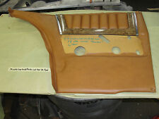 79 Cadillac Coupe Deville Phaeton LEFT REAR QUARTER DOOR PANEL W/ WOODGRAIN TRIM