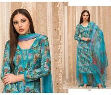 Cotton Printed Salwar Kameez Suit With Chiffon Printed Dupatta- Rivaa