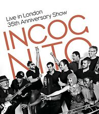 INCOGNITO - LIVE IN LONDON-35TH ANNIVERSARY SHOW  BLU-RAY NEU