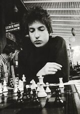 Bob Dylan - The Chess Man - A4 Photo Print