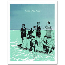 Tegan and Sara Summer Tour Special Edition Poster Print & FREE GIFT