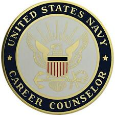 USN Navy Breast Badge Career Counselor  Regulation size    NEW