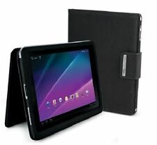 "iLuv Portfolio Jacket Case for Samsung Galaxy Tab 8.9"" in Black Faux Leather"