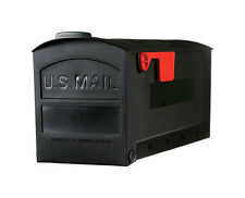 NEW Black RUBBERMAID Roughneck Mailbox Postal Mail Weather Resistant GMB505B01