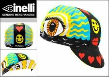 CINELLI EYE OF THE STORM CYCLING BIKE CAP - VINTAGE - Fixed Gear - Made in Italy
