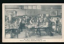 Gloucestershire Glos FISHPONDS Dr Bell's School Arts & Crafts c1950s? PPC