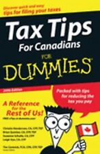 Tax Tips For Canadians For Dummies 2006