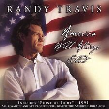 America Will Always Stand [Single] by Randy Travis (CD)  Disc Only, Free Ship
