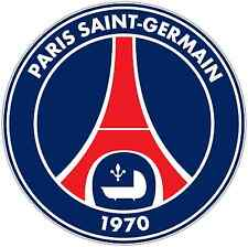 "Paris Saint-Germain France Football Soccer Car Bumper Sticker Decal 4.6""X4.6"""