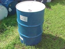 Sealed metal steel 55 gallon barrel barrels unlined un-lined food grade Blue